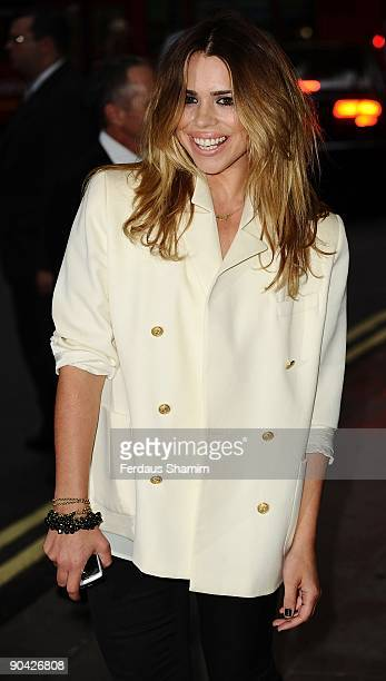 Billie Piper attends the TV Quick Tv Choice Awards at the The Dorchester Hotel on September 7 2009 in London England