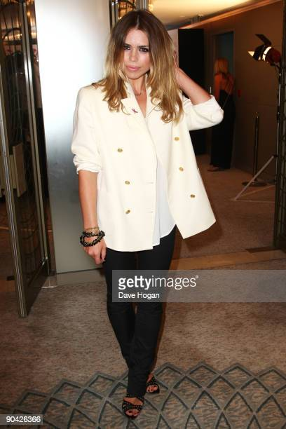 Billie Piper attends the TV Quick TV Choice Awards champagne reception held at The Dorchester on September 7 2009 in London England
