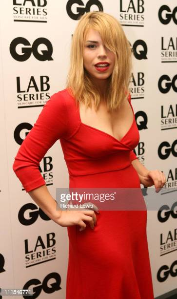 Billie Piper during GQ Men of the Year Awards Inside Arrivals at Royal Opera House in London Great Britain