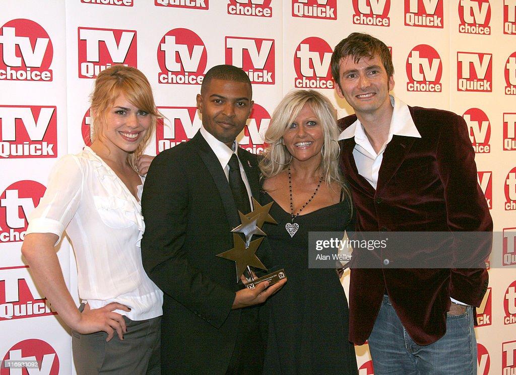 TV Quick and TV Choice Awards - Press Room : News Photo