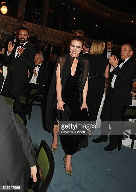 Billie Piper, winner of the Natasha Richardson Award for Best Actress, attends the 62nd London Evening Standard Theatre Awards, recognising...