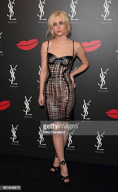 Billie Porter attends the YSL Beaute YSL Loves Your Lips party at The Boiler HouseThe Old Truman Brewery on January 20 2015 in London England