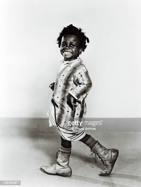 Billie Thomas as Buckwheat in Second Childhood one of the Our Gang series later to be known as The Little Rascals Release dated April 11 1936