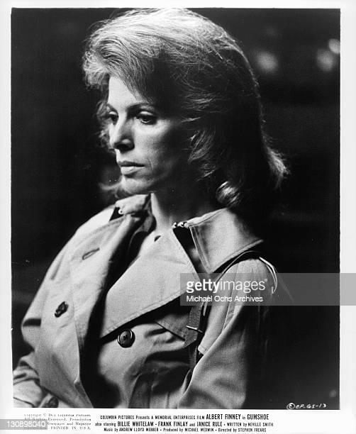 Billie Whitelaw in a scene from the film 'Gumshoe' 1971