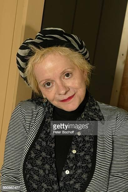 """Billie Zöckler, Portrait, Porträt, geb.: 18. Januar 1953, Sternzeichen: Steinbock, Darstellerin vom Theaterstück: """"Lauf doch nicht immer weg"""",..."""