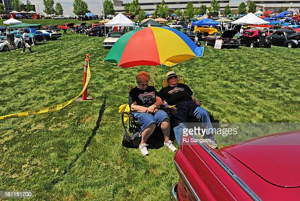 Billie Zumo left his her husband Charlie Zumo of Cheyenne Wyoming nap behind their 1955 Ford Crown Victoria Skyliner Friday June 03 during the...