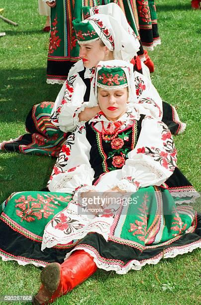 Billingham Folklore Festival 1994, International Folklore Festival of World Dance. 16th August 1994. The Sava Kranj Folklore group from Slovenia.