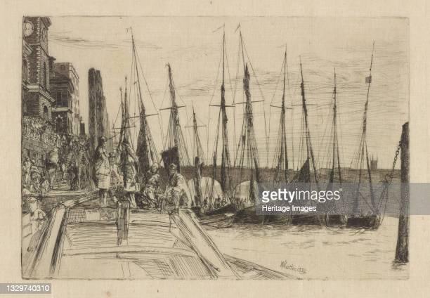 Billingsgate, 1859. Artist James Abbott McNeill Whistler.