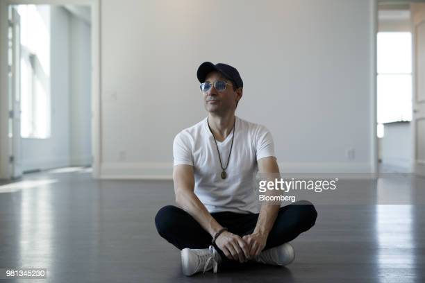 Billionaire Anthony Di Iorio cofounder of Ethereum stands for a photograph in his newly purchased penthouse suite at the St Regis Residences in...