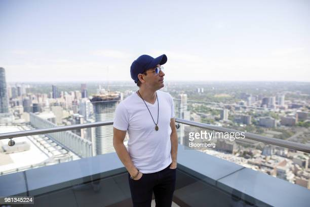 Billionaire Anthony Di Iorio cofounder of Ethereum stands for a photograph on the terrace of his newly purchased penthouse suite at the St Regis...