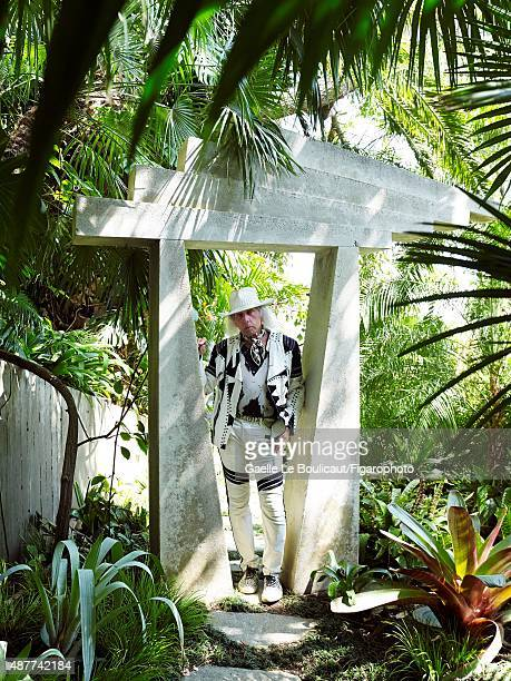 Billionaire James Goldstein is photographed for Madame Figaro on August 10 2010 at his Sheats Goldstein home designed by John Lautner in Los Angeles...