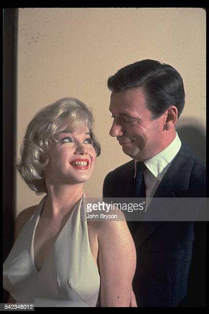 Billionaire JeanMarc Clement and singer Amanda Dell in the film Let's Make Love Released in 1960
