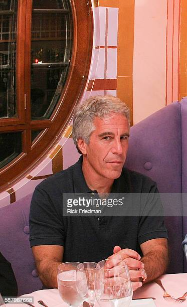 Billionaire Jeffrey Epstein in Cambridge MA on 9/8/04 Epstein is connected with several prominent people including politicians actors and academics...