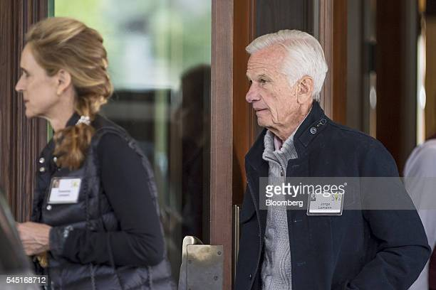 Billionaire Jorge Paulo Lemann arrives for the Allen Co Media and Technology Conference in Sun Valley Idaho US on Tuesday July 5 2016 Billionaires...