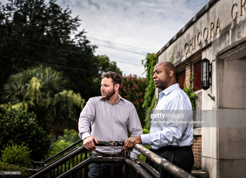 Sean Parker and Tim Scott, Forbes Magazine, August 31, 2018