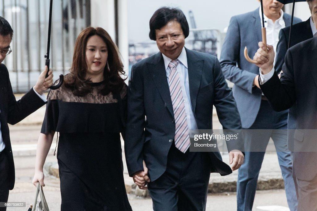 Billionaire Thomas Kwok And Former Hong Kong Chief Secretary Rafael Hui Appear At Court Of Final Appeal : News Photo