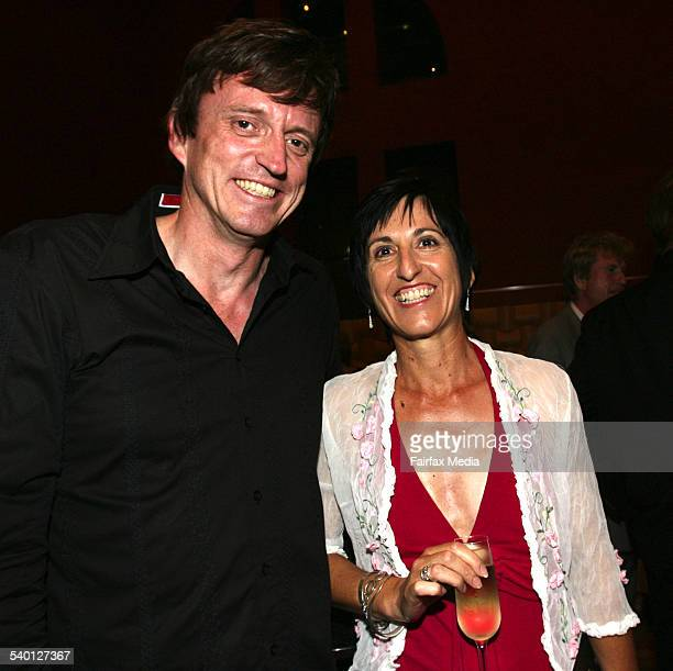 Billly Crystal after party Capitol Theatre Sydney Murray Cook and Meg Munro 6 February 2007 SHD NEWS Picture by JANIE BARRETT