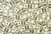 $100 bills background