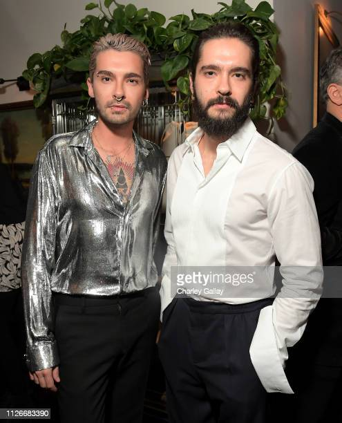 Billy and Tom Kaulitz of Tokio Hotel attend the Cadillac Oscar Week Celebration at Chateau Marmont on February 21 2019 in Los Angeles California