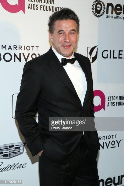Billy Baldwin attends the 27th Annual Elton John AIDS Foundation Academy Awards Viewing Party Celebrating EJAF and The 91st Academy Awards on...