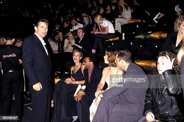 Billy Baldwin Spike Lee and wife and Debi Mazar