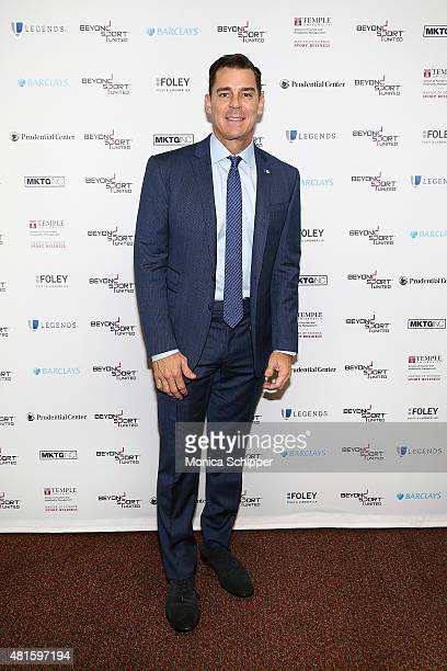 Billy Bean Ambassador for Inclusion MLB attends the Beyond Sport United 2015 event on July 22 2015 in Newark City