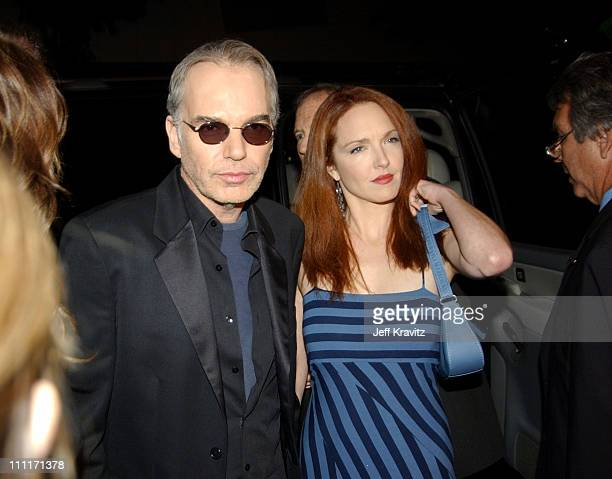 Billy Bob Thornton and Amy Yasbeck during Bad Santa Los Angeles Premiere and AfterParty at Bruin Theater in Westwood California United States