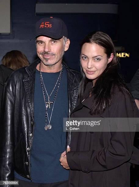 Billy Bob Thornton and Angelina Jolie