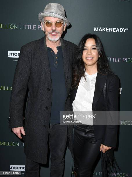 Billy Bob Thornton and Connie Angland arrives at the A Million Little Pieces at The London Hotel on December 04 2019 in West Hollywood California