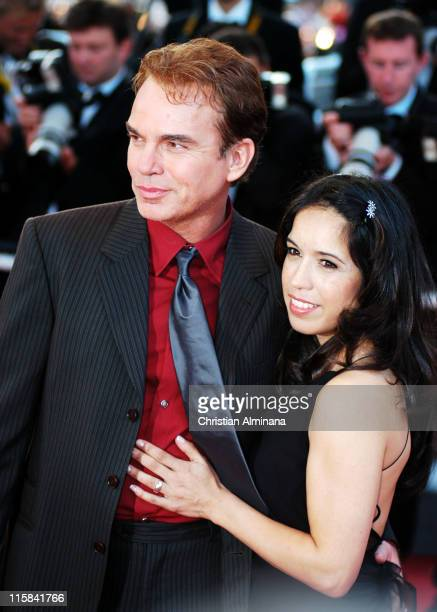 Billy Bob Thornton and Connie Angland during 2004 Cannes Film Festival Bad Santa and Motorcycle Diaries Premiere at Palais Du Festival in Cannes...