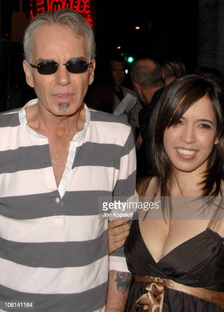 Billy Bob Thornton and Connie Angland during The Astronaut Farmer Los Angeles Premiere Arrivals at Cinerama Dome in Hollywood California United States