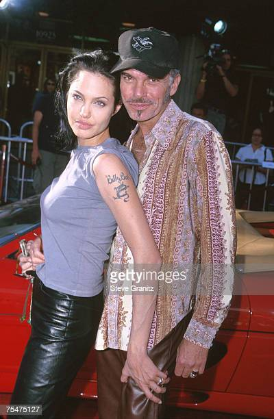 Billy Bob Thornton Angelina Jolie at the National Theater in Westwood California