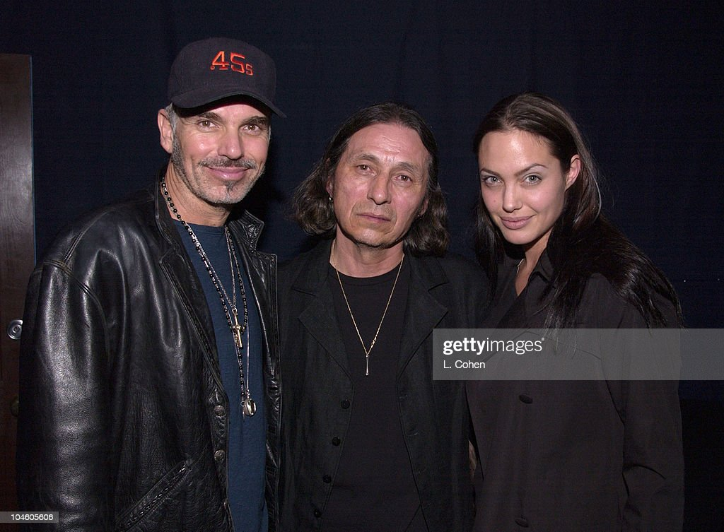 Angelina Jolie presents John Trudell in concert