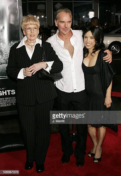 Billy Bob Thornton Connie Angland and Mom during Friday Night Lights World Premiere at Grauman's Chinese Theatre in Hollywood California United States