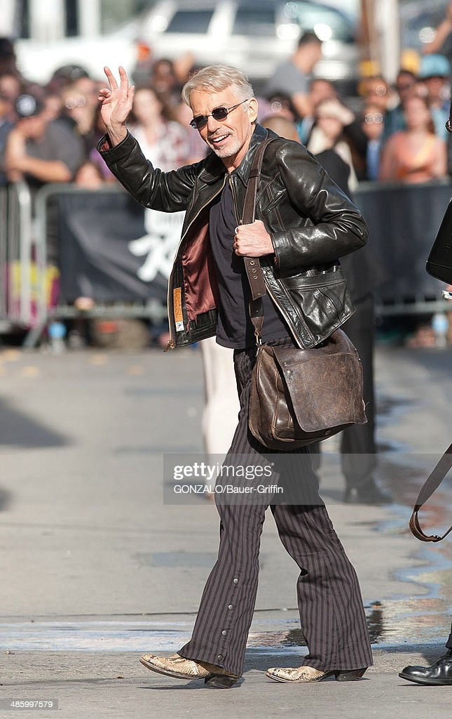 Billy Bob Thornton is seen on April 21, 2014 in Los Angeles, California.