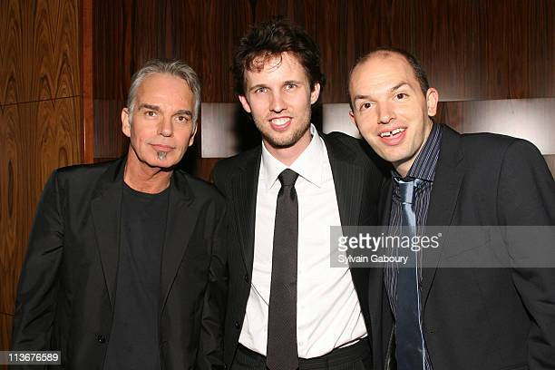 Billy Bob Thornton Jon Heder and Paul Scheer during School For Scoundrels New York Premiere After Party at AMC Loews Lincoln Square in New York City...