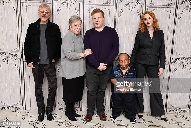Billy Bob Thornton Kathy Bates Brett Kelly Tony Cox and Christina Hendricks attend The Build Series Presents Billy Bob Thornton Christina Hendricks...
