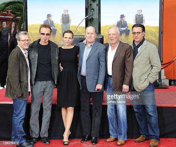 Billy Bob Thornton Luciana Pedraza Robert Duvall James Caan and Andy Garcia attend Robert Duvall being Honored With Historic Hand And Footprint...