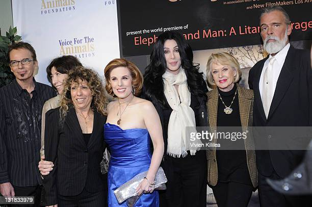 Billy Bob Thornton Melia Kaplan Lily Tomlin Kat Kramer Cher Tippi Hedren and Chris Gallucci attend Kat Kramer's Films That Changed The World...