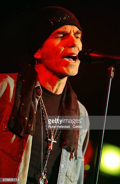 Billy Bob Thornton performs a oneoff gig at the Union Chapel