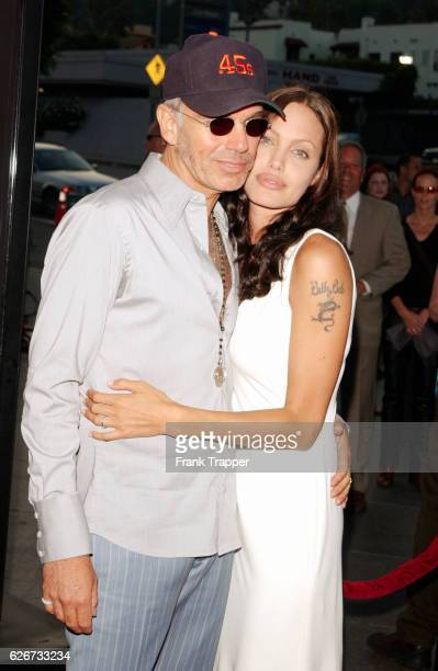 Billy Bob Thorton and wife Angelina Jolie at the 'Original Sin' premiere