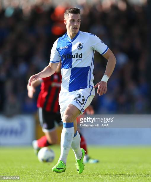 Billy Bodin of Bristol Rovers during the Sky Bet League One match between Bristol Rovers and Shrewsbury Town at Memorial Stadium on April 1 2017 in...