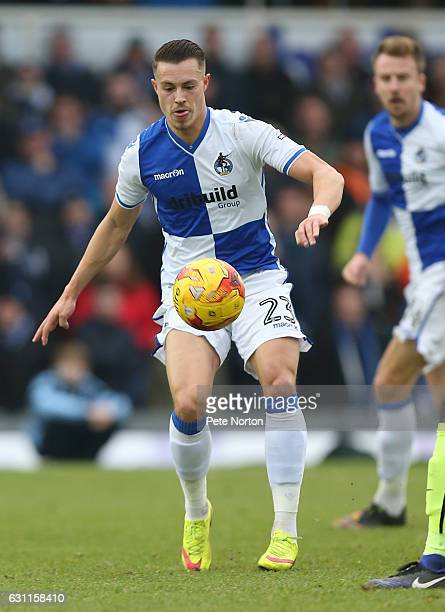 Billy Bodin of Bristol Rovers in action during the Sky Bet League One match between Bristol Rovers and Northampton Town at Memorial Stadium on...