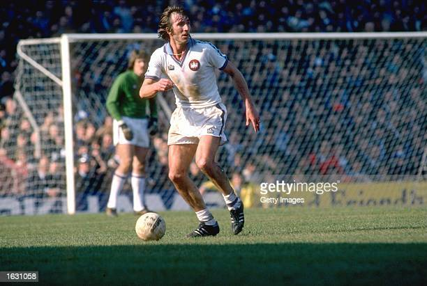 Billy Bonds of West Ham United in action during a match Mandatory Credit Allsport UK /Allsport