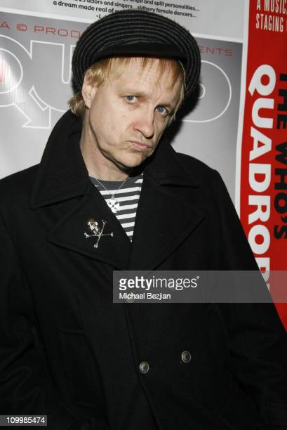 Billy Bones during Quadrophenia Musical Theatre Performance at The Avalon in Hollywood California United States