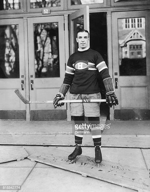 Billy Boucher of the Montreal Canadiens