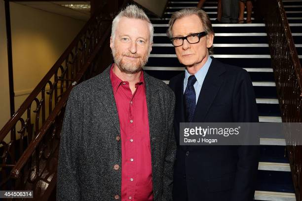 Billy Bragg and Bill Nighy attend the UK Premiere of 'Pride' at Odeon Camden on September 2 2014 in London England