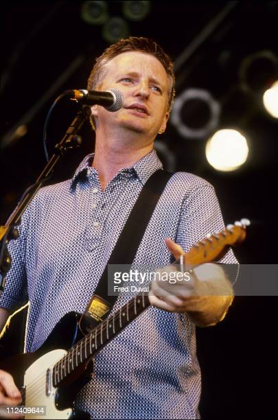 Billy Bragg at the Guinness Fleadh in Finsbury Park London - circa 1998