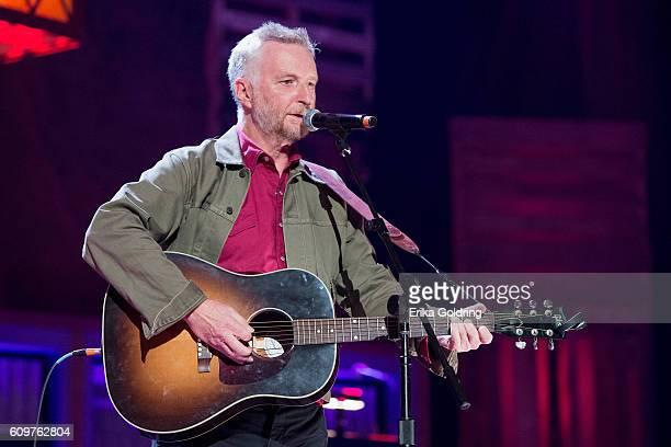 Billy Bragg performs at Ryman Auditorium on September 21 2016 in Nashville Tennessee