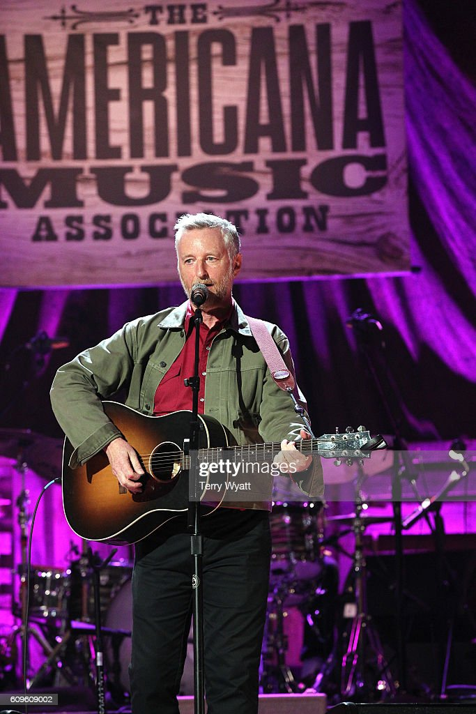Billy Bragg performs onstage at the Americana Honors & Awards 2016 at Ryman Auditorium on September 21, 2016 in Nashville, Tennessee. at Ryman Auditorium on September 21, 2016 in Nashville, Tennessee.